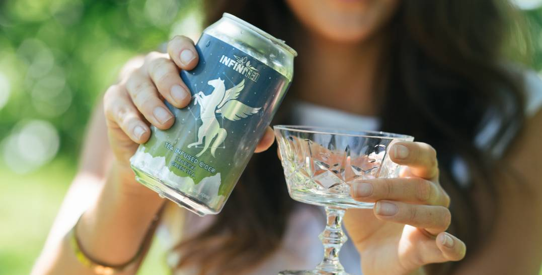 Local boozy tea-and-cider brand drops just in time for summer