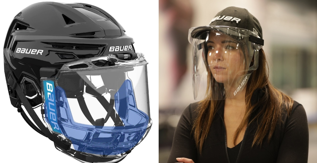 Bauer unveils protective masks for hockey players and fans