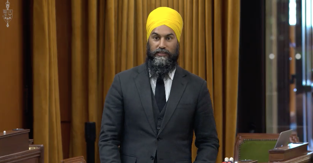 Jagmeet Singh kicked out of House of Commons for calling MP a racist