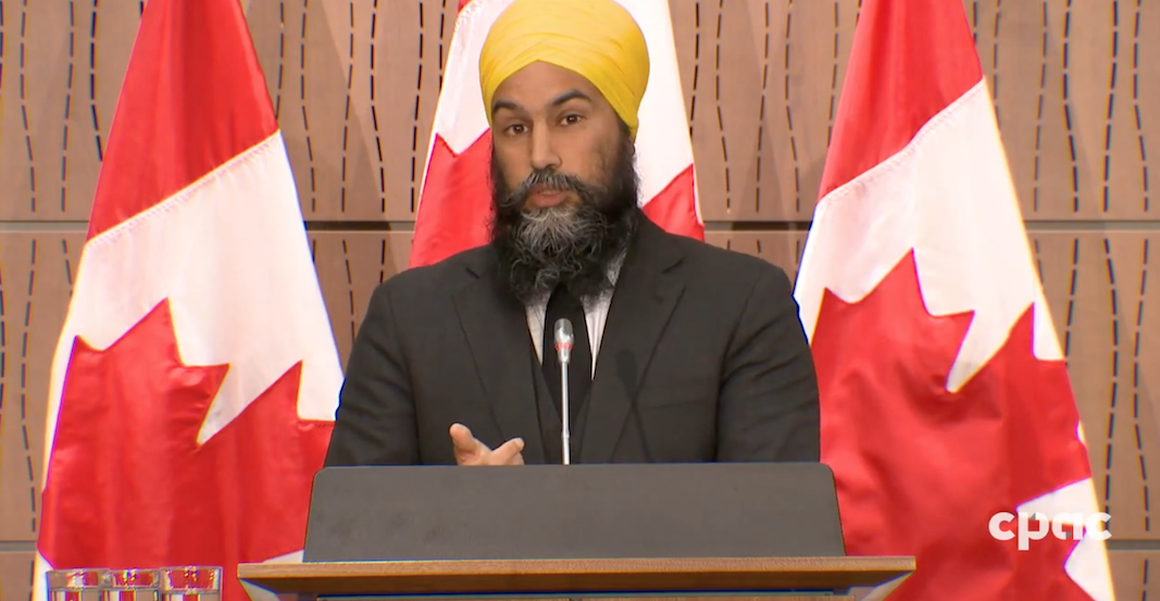 Jagmeet Singh emotionally addresses comments made in the House of Commons