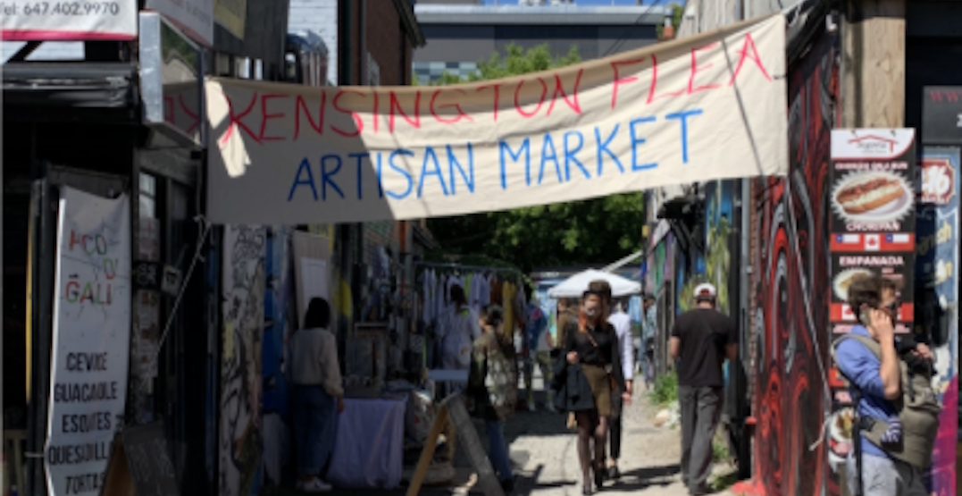 Kensington Market launches weekly flea market starting this weekend