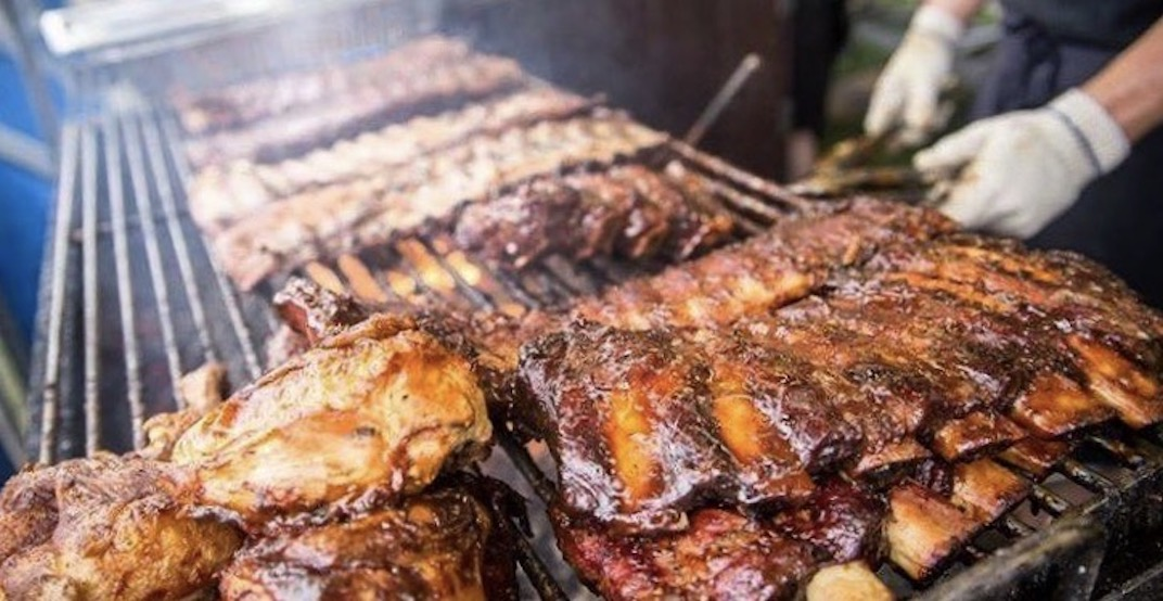 A drive-thru BBQ event is happening in Vancouver this weekend