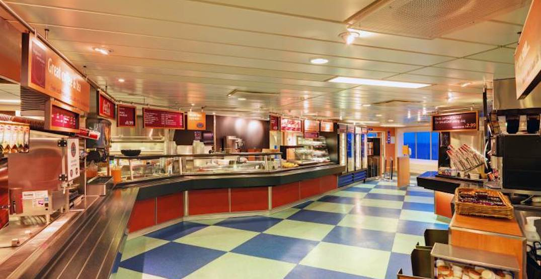BC Ferries restores hot food services on major routes serving Metro Vancouver