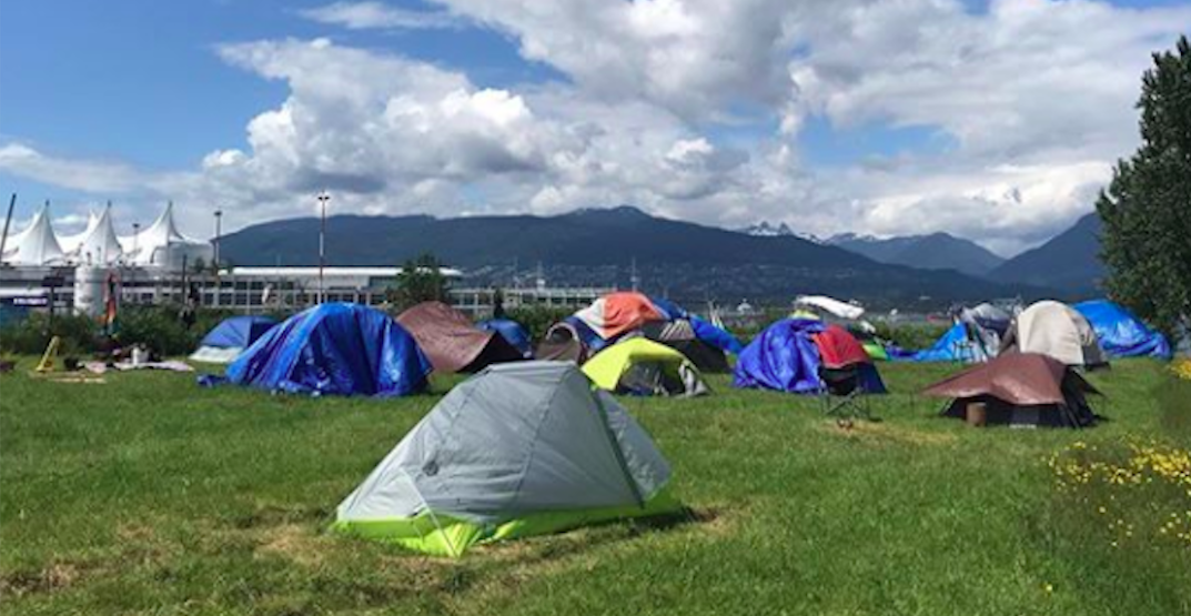 Vancouver homeless campers move to park after eviction from another park