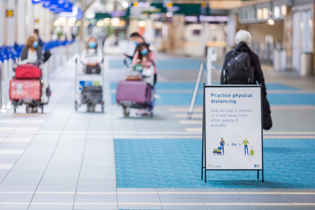 Three screening officers at Vancouver airport test positive for coronavirus