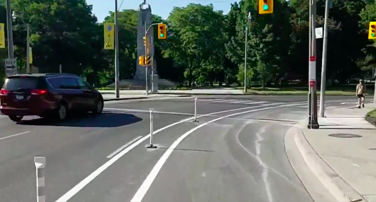Two major Toronto cycling routes ready in time for Stage 2 reopening