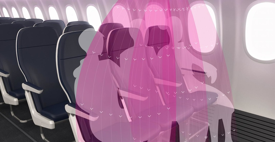 """New 3D-printed """"air shield"""" could protect fliers from viruses"""