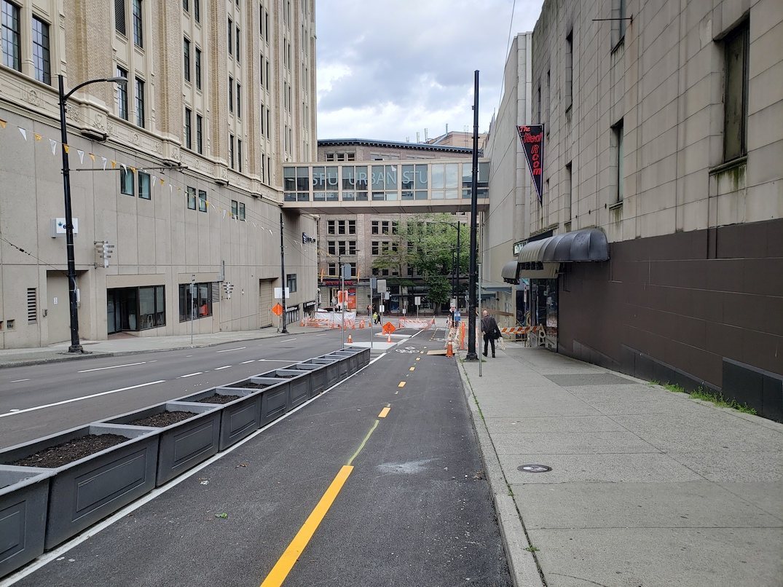 richards street bike lane