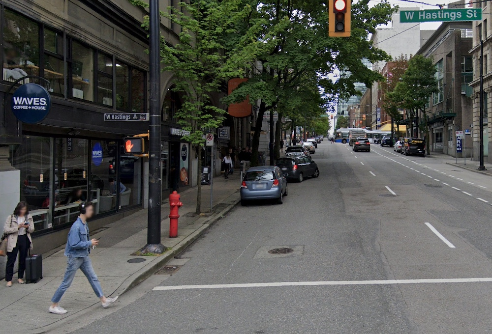 richards street west hastings street