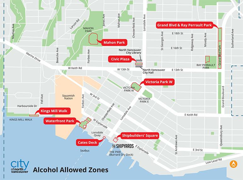 north vancouver public alcohol
