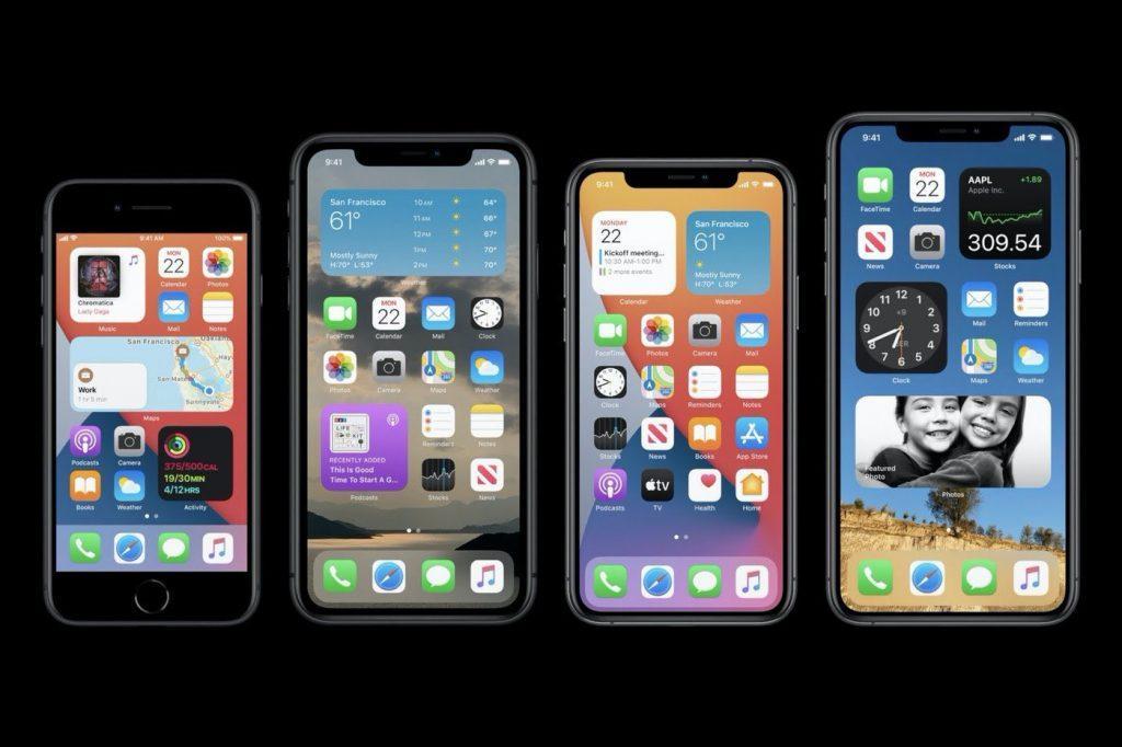 iOS 14 Apple Widgets