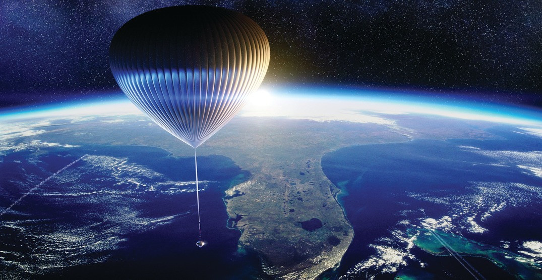 New balloon-spaceship could transport travelers into space (PHOTOS)