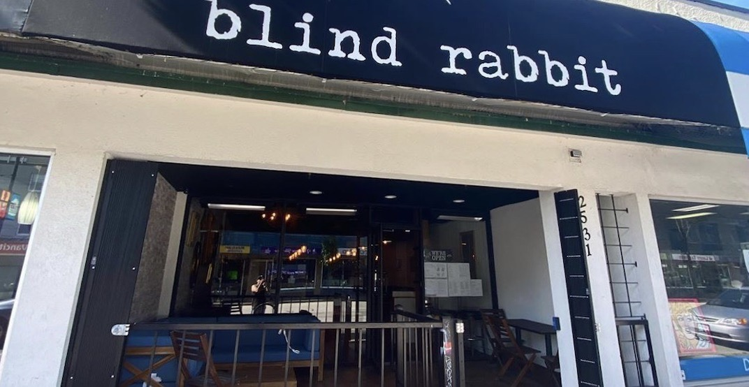 """Vancouver's newest cocktail bar """"Blind Rabbit"""" is open"""