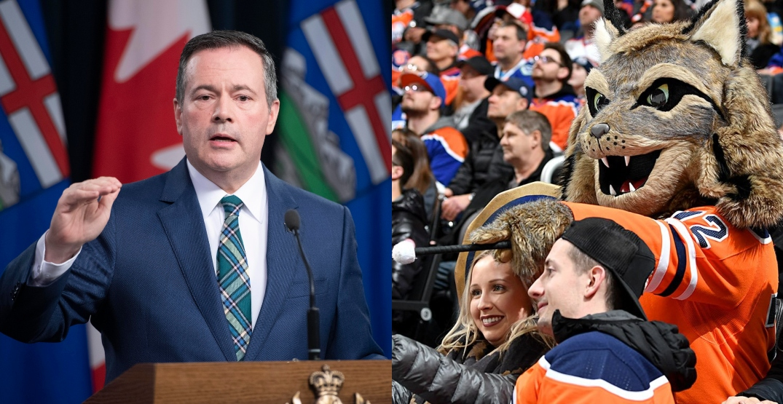 "Fans roast Alberta premier's attempt to showcase Edmonton as ""obvious"" NHL hub city"