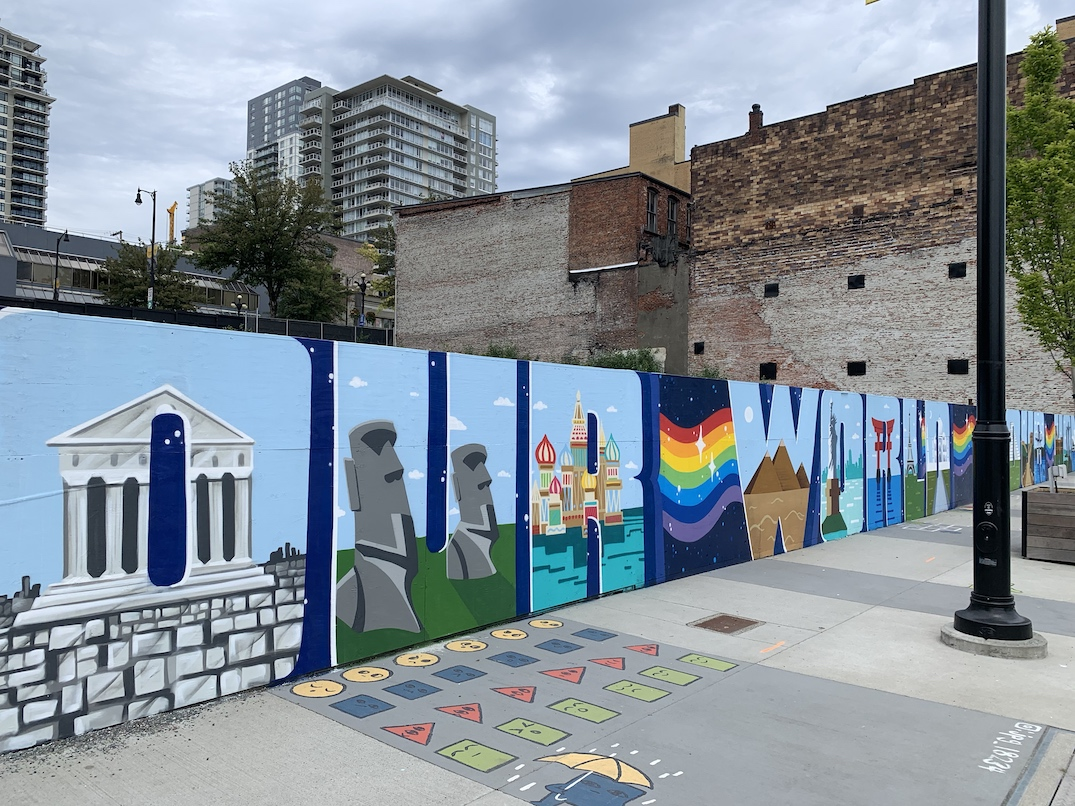 we are one mural new westminster