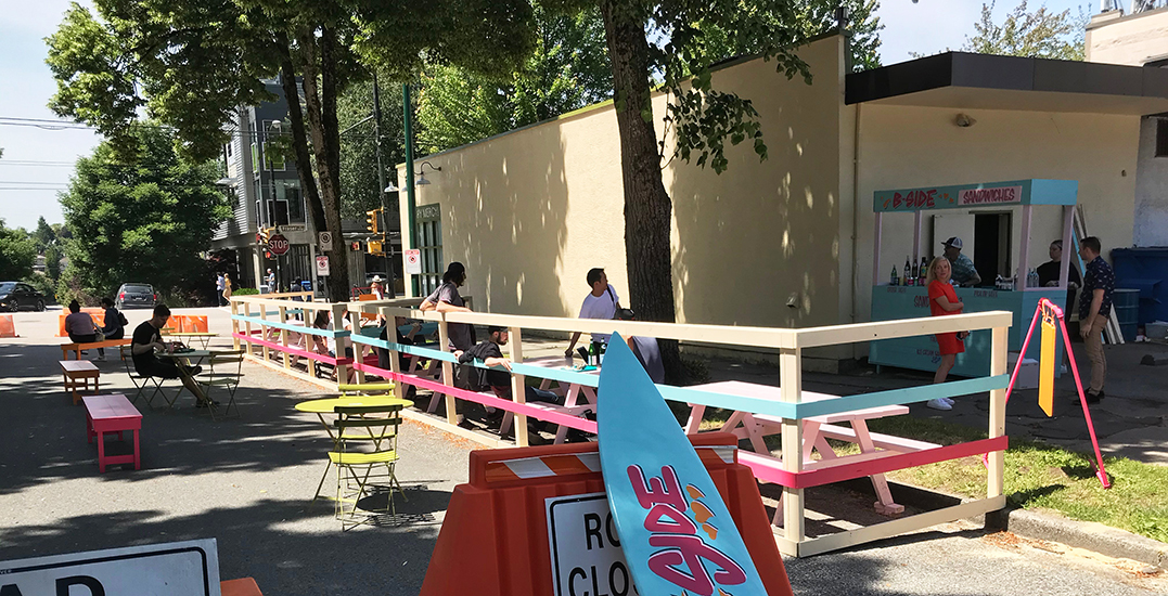 Four additional pop-up plazas to be installed across Vancouver