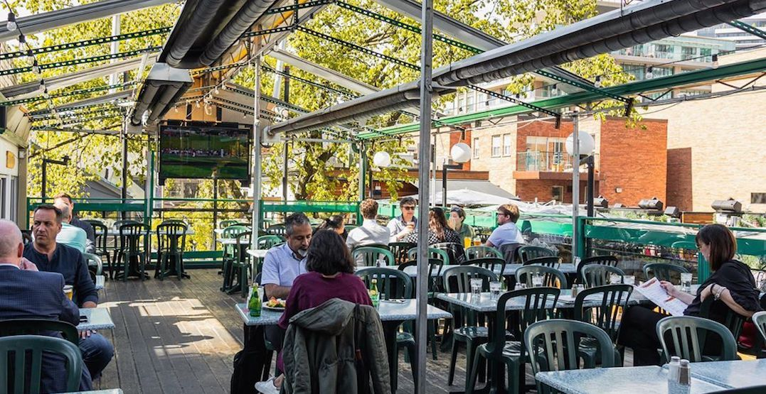 This Spot Could Be The Very First Patio To Reopen In Toronto Dished