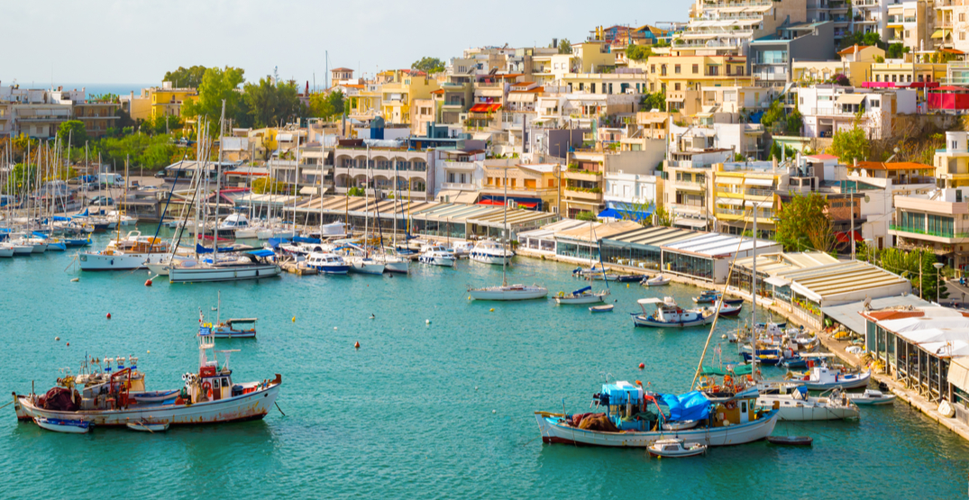 Greece saw a nearly 99% decrease in travel revenue during April
