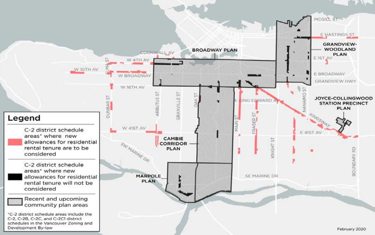 vancouver c-2 rental zoning map