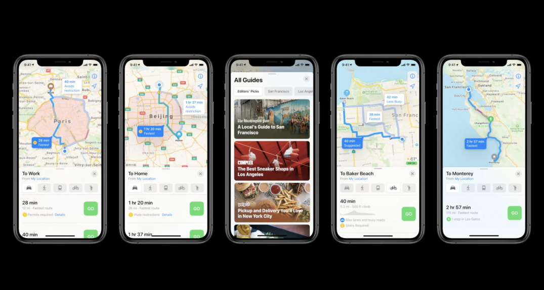 Apple details new features coming to Maps this fall