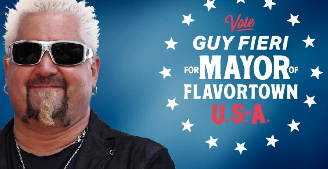 "Guy Fieri fans petition to change Ohio city's name to ""Flavortown"""