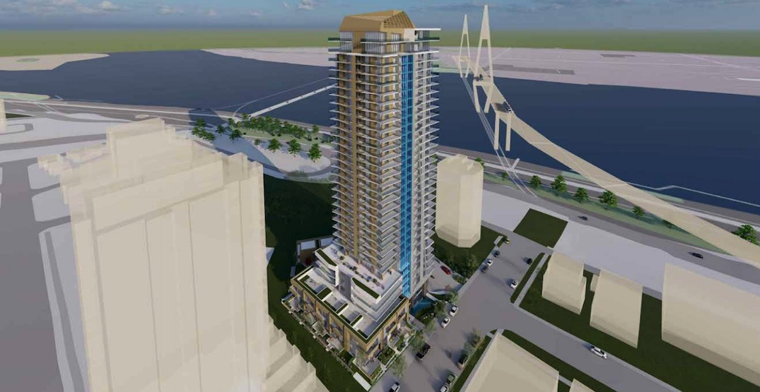281 homes in a 34-storey tower proposed for New Westminster