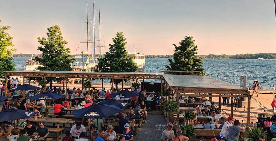 The coolest waterfront patios to visit in Toronto this summer