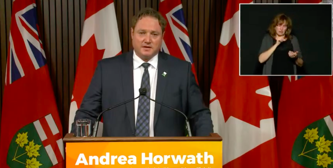 "NDP MPP apologizes after calling Doug Ford a ""piece of sh*t"" in legislature"