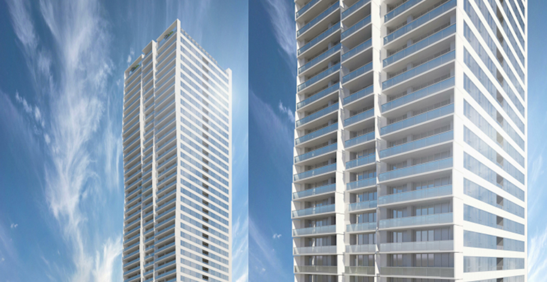 444 homes in a 44-storey tower coming next to SkyTrain's Patterson Station