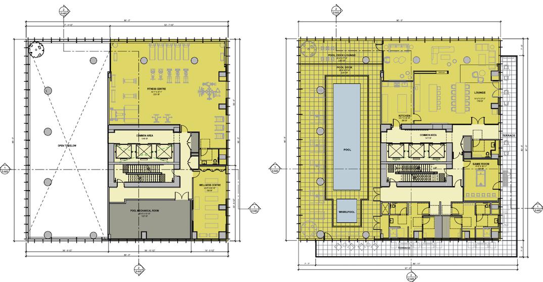 Artistic rendering of 5977 Wilson Avenue, Burnaby. (Gensler / Chris Dikeakos Architects / Bosa Properties)