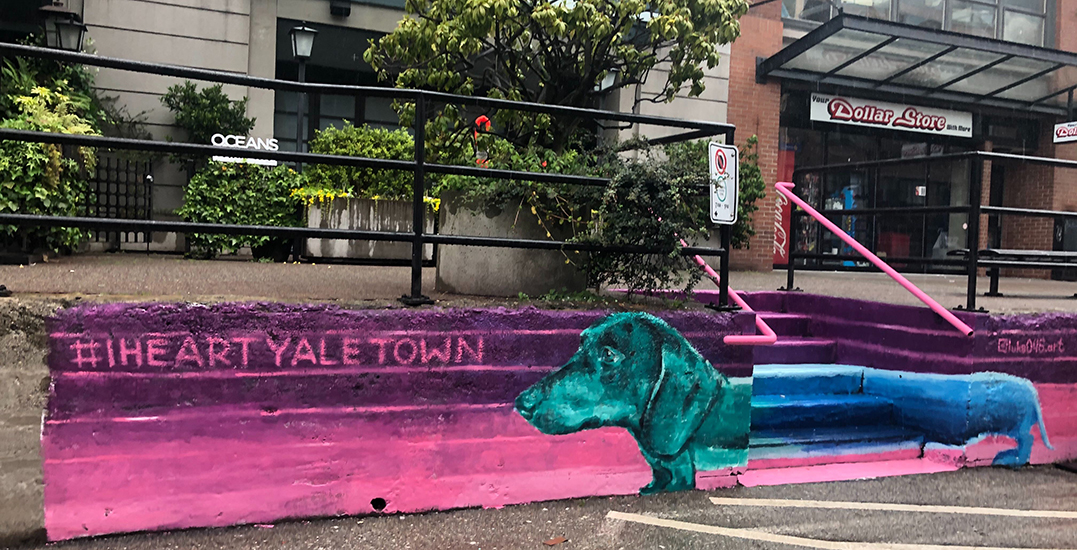 Yaletown transforming staircases into colourful murals (PHOTOS)