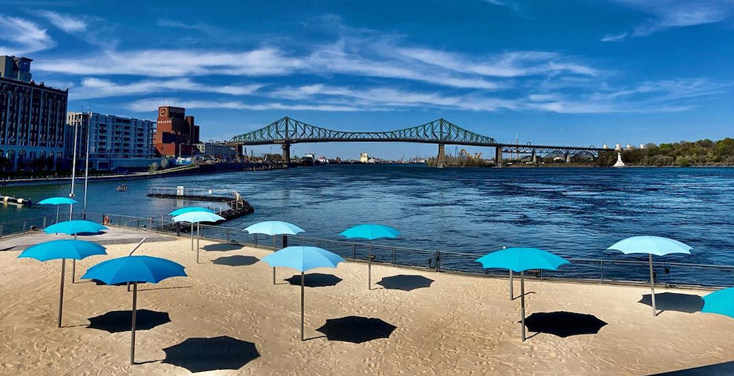 Old Montreal's Clock Tower Beach to reopen next week