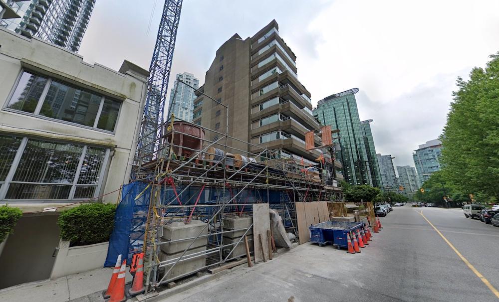 1250 West Hastings Street Vancouver Terrace House