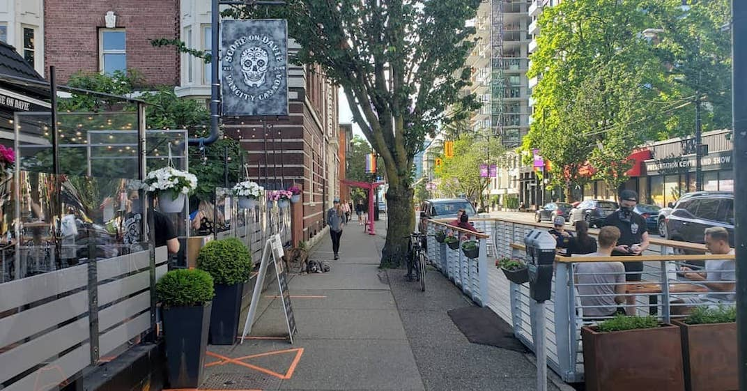 The ultimate list of temporary restaurant and bar patios in Vancouver