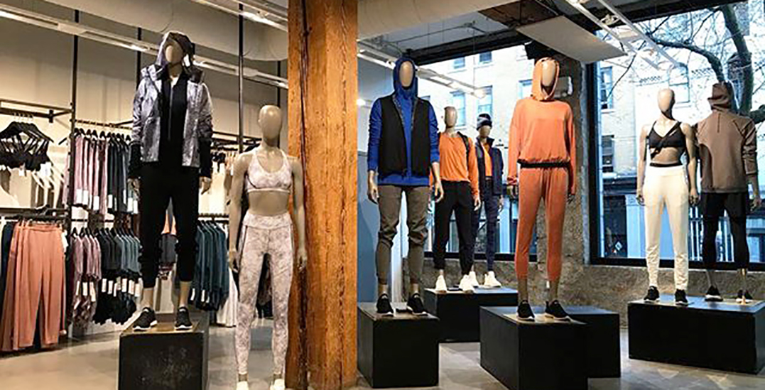 """Lululemon quietly shutters """"Lab"""" concept location in Downtown Vancouver"""