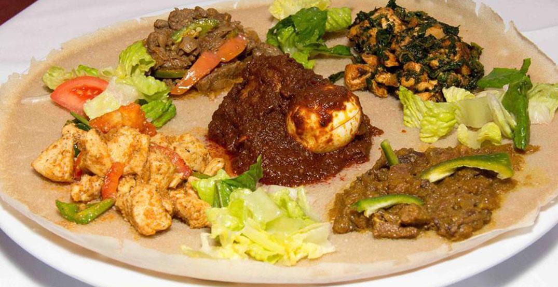 queen sheba food