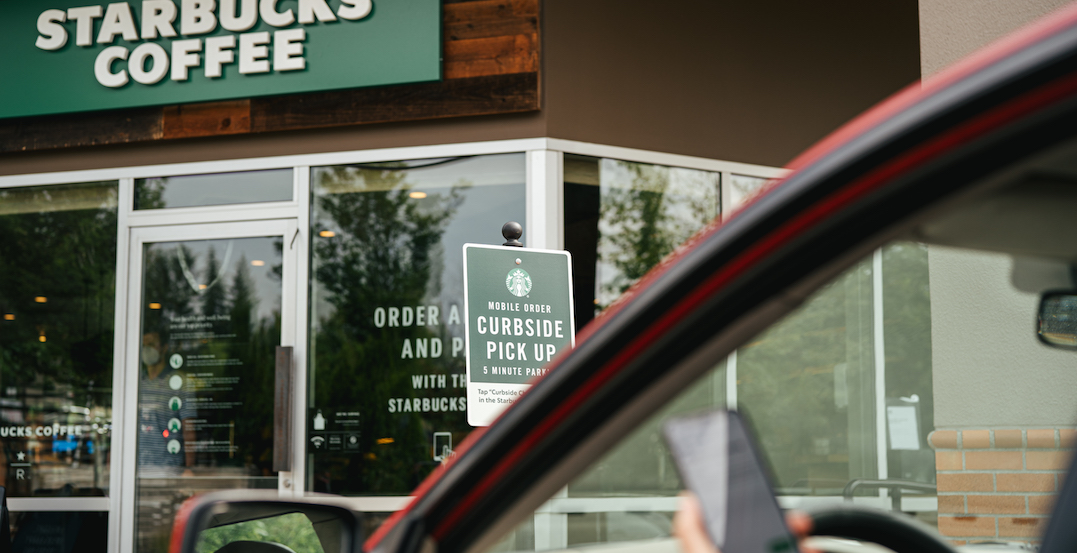 Starbucks to begin testing curbside pick-up next month