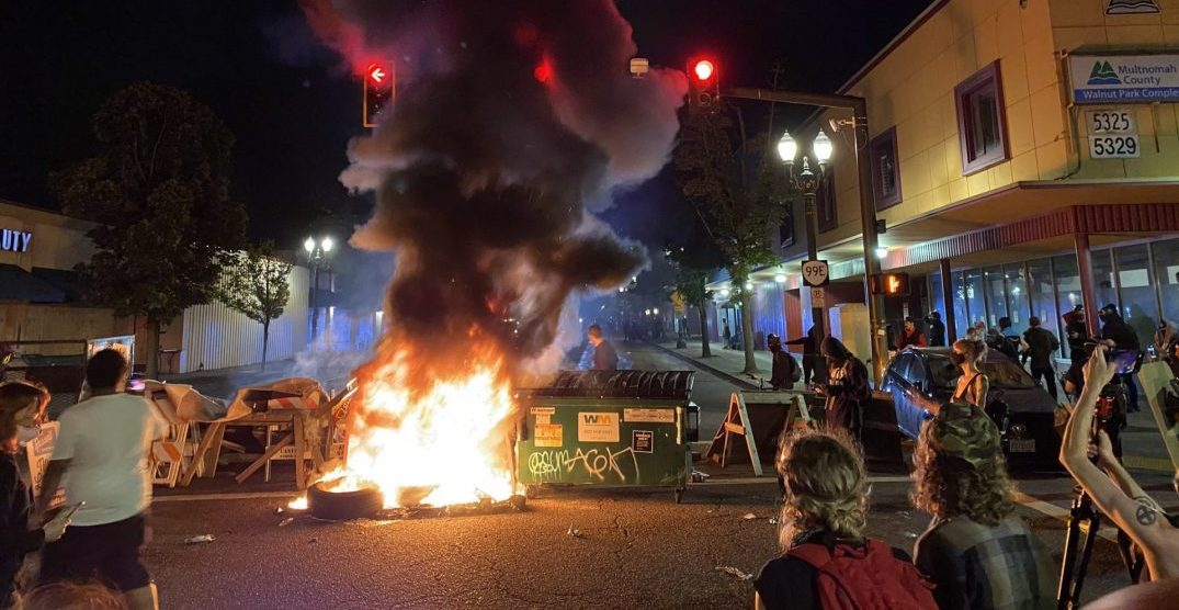 Photos from this weekend's protests in Portland: June 26 to 29