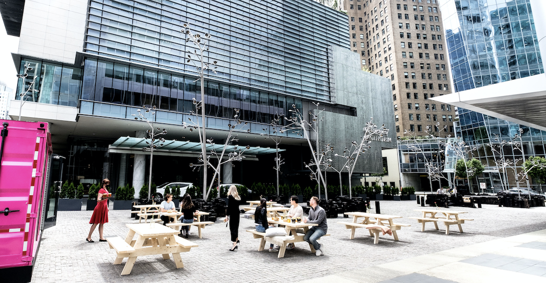 First look at the Fairmont Pacific Rim's new pop-up patio (PHOTOS)