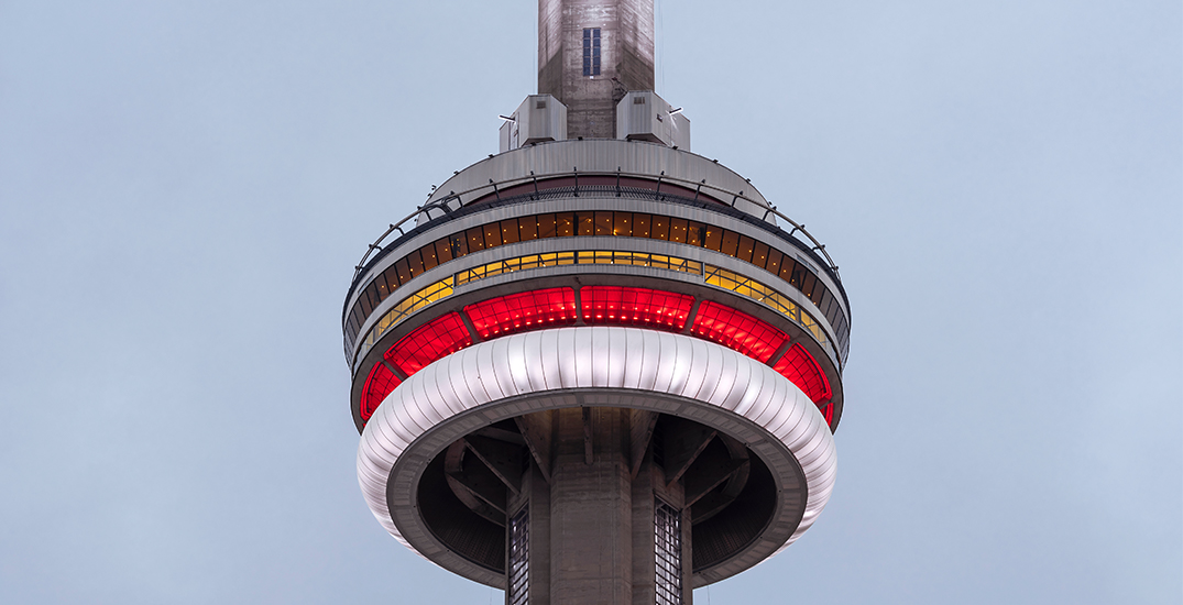 CN Tower celebrates Canada Day with a virtual light show