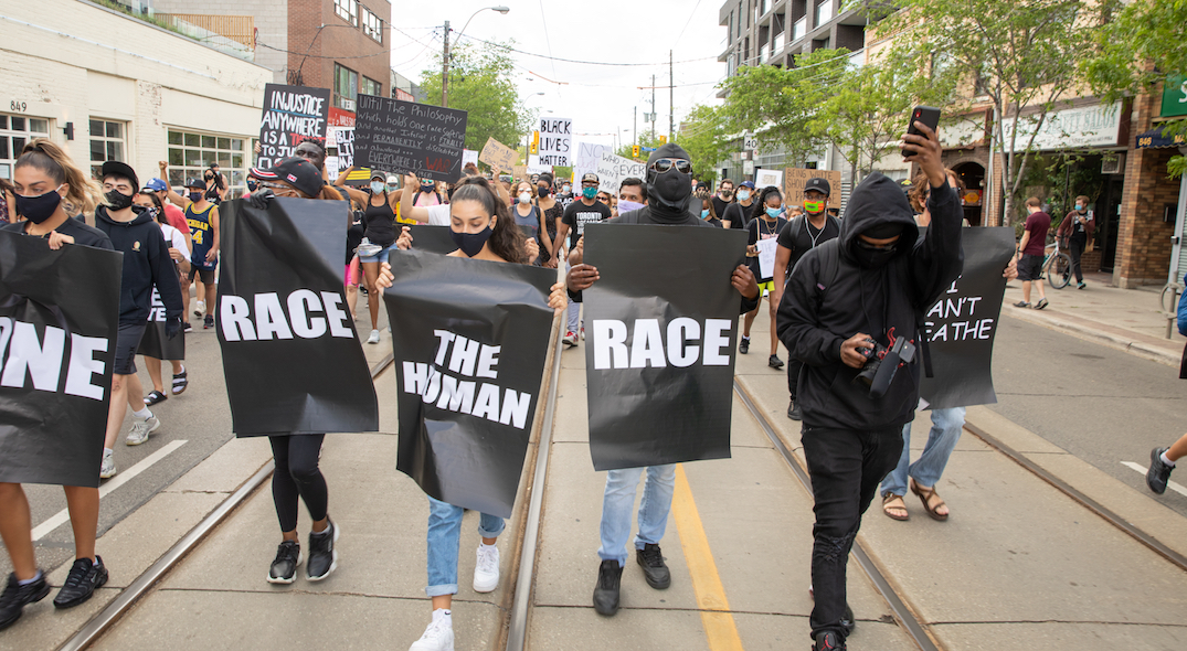 What protests to defund police looked like across Canada this weekend (VIDEOS)