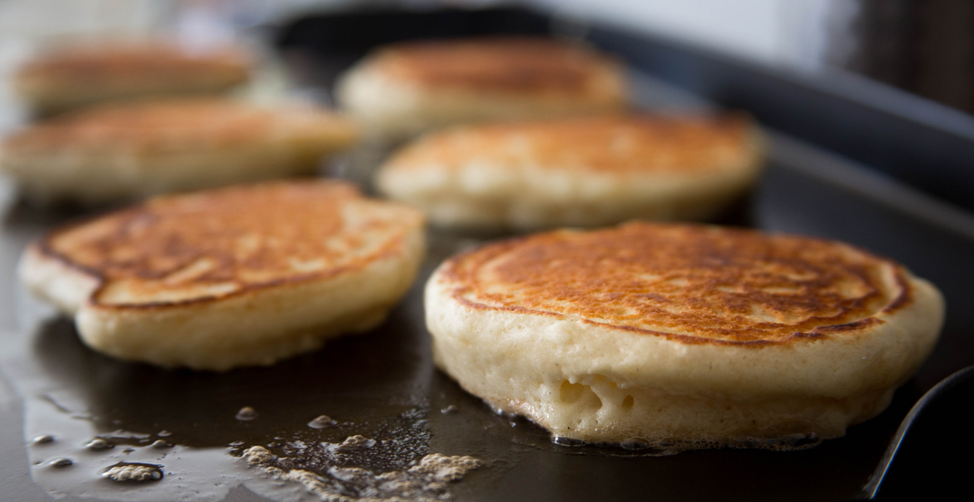 Free House is offering FREE pancakes this month in Calgary
