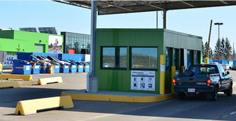 Edmonton coronavirus testing site turns back to waste collection