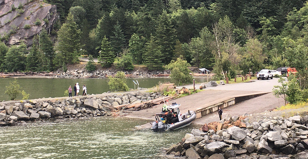 Capsized kayakers rescued from Howe Sound on Canada Day