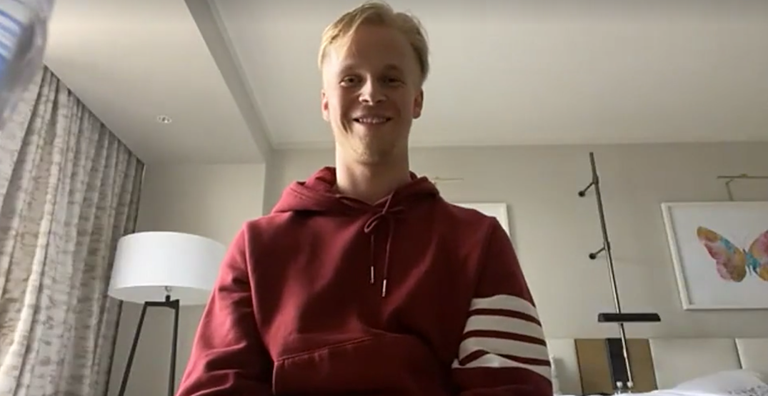 """Canucks' Elias Pettersson says life in the bubble is """"kind of boring"""""""
