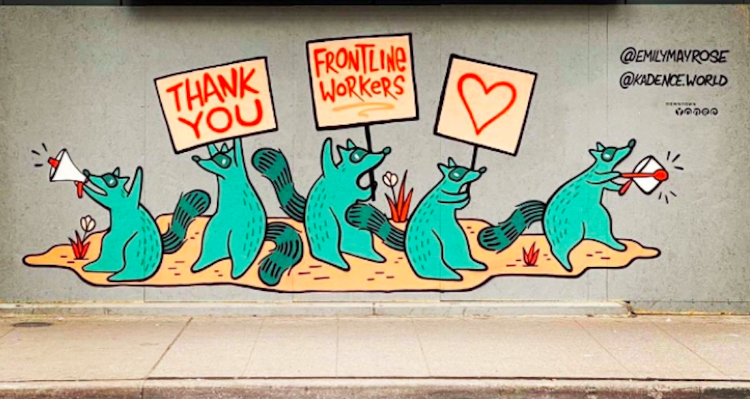 Toronto artists set to create new mural series celebrating frontline workers