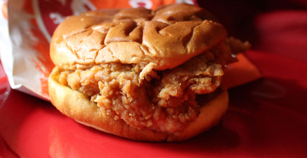 Canada's fast food chicken sandwiches ranked from worst to best