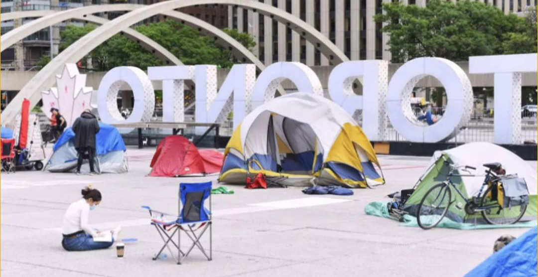 Nathan Phillips Square protesters facing up to $10,000 fine: City