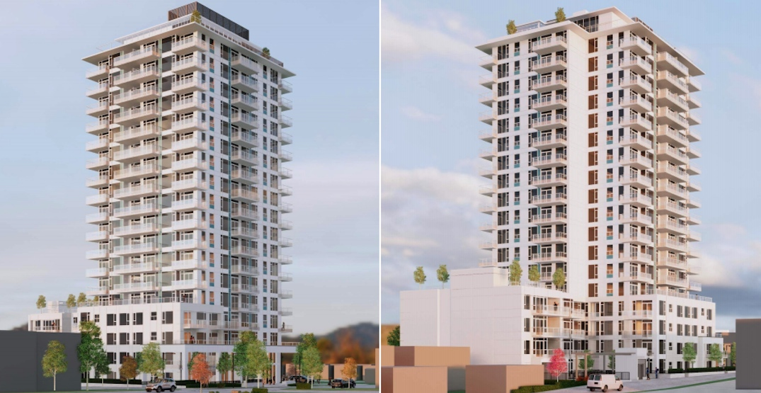 19-storey rental building with 215 homes proposed near Oakridge Centre