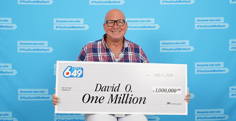 Lucky Burnaby man wins second million-dollar lottery jackpot